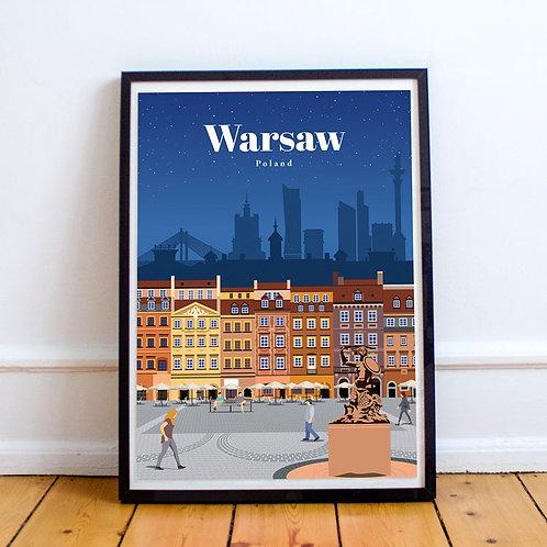 Warsaw Print