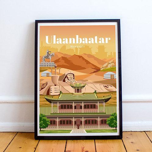 Ulaanbaatar Print