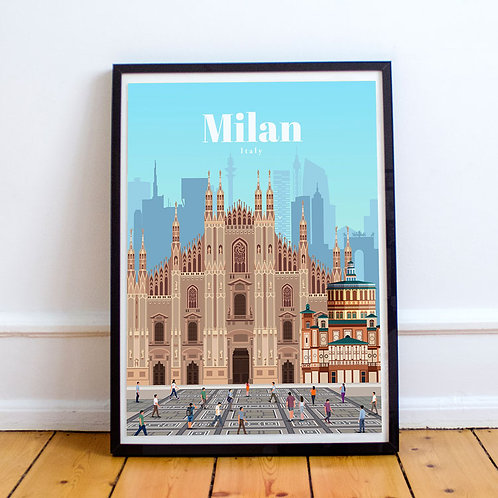 Milan Print