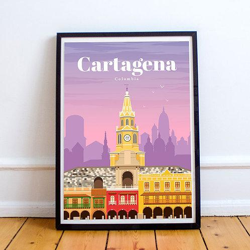 Cartagena Print