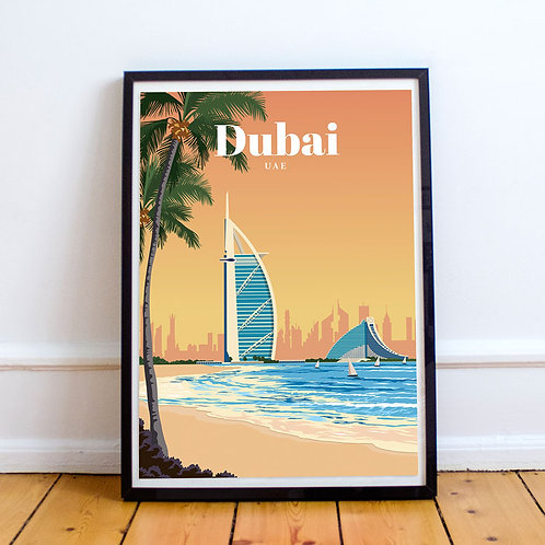Dubai Print