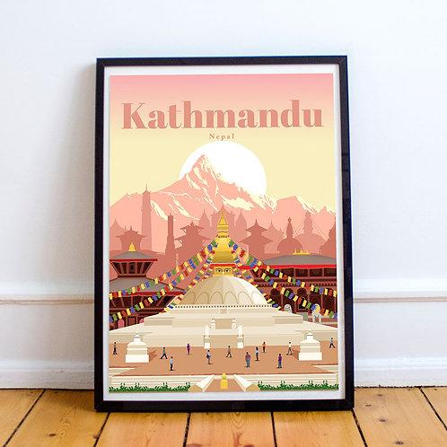 Kathmandu Print