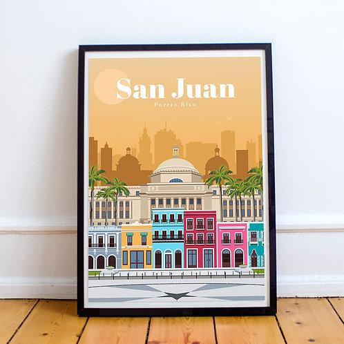 San Juan Print