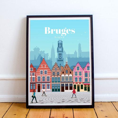 Bruges Print