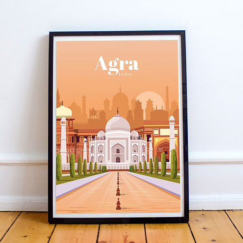 Agra Print