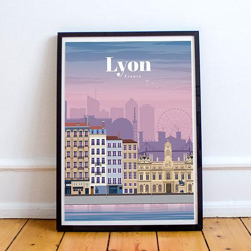 Lyon Print