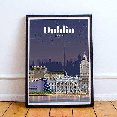 Dublin Print