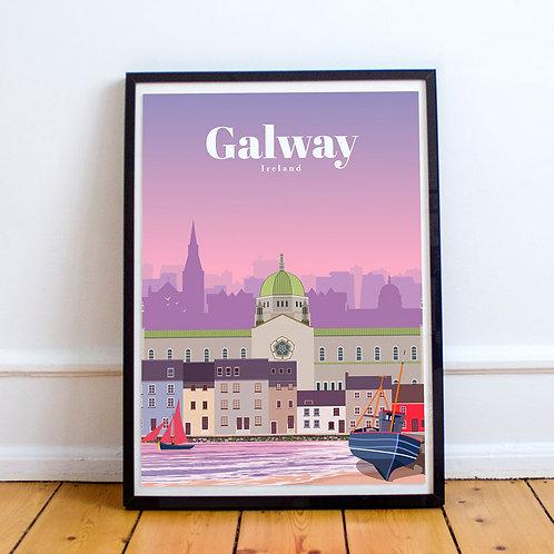 Galway Print