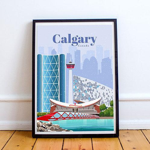 Calgary Print