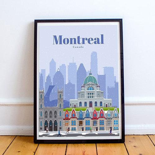 Montreal Print