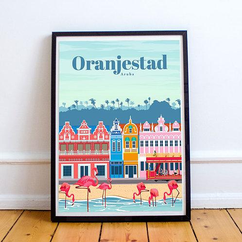 Oranjestad Print