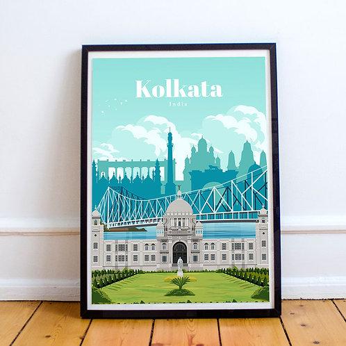 Kolkata Print