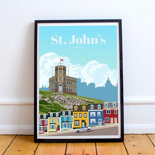 St. John's Print