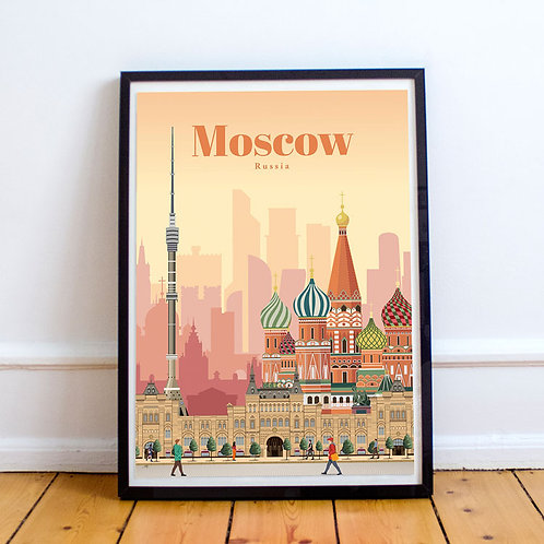 Moscow Print