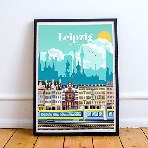 Leipzig Print