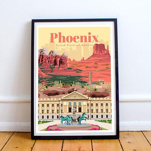 Phoenix Print