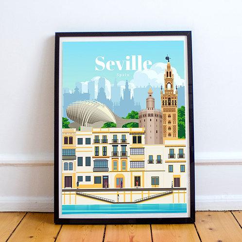 Seville Print