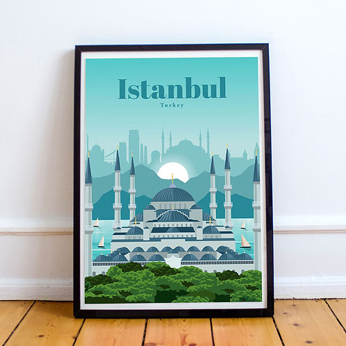 Istanbul Blue Mosque Print