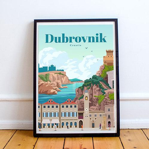 Dubrovnik Print