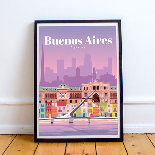 Buenos Aires Print