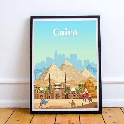 Cairo Print