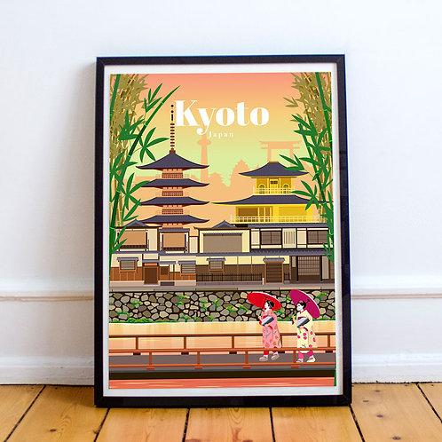 Kyoto Print