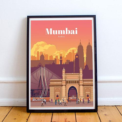 Mumbai Print
