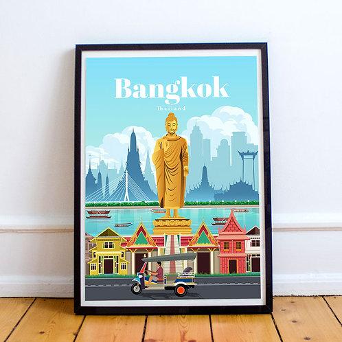 Bangkok Print