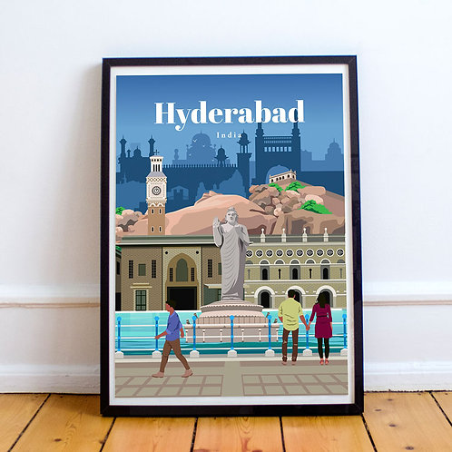 Hyderabad Print