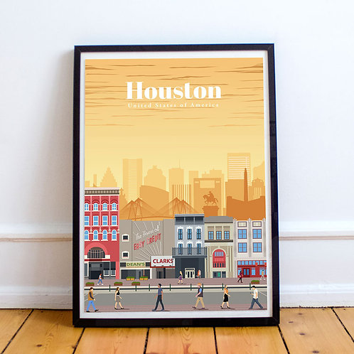 Houston Print