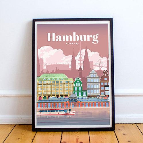 Hamburg Print