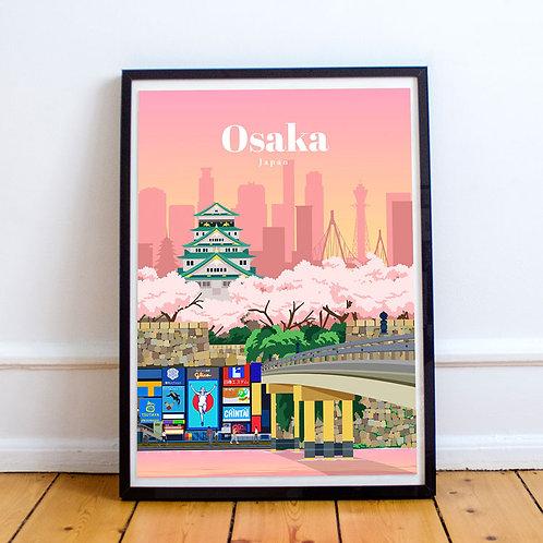 Osaka Print