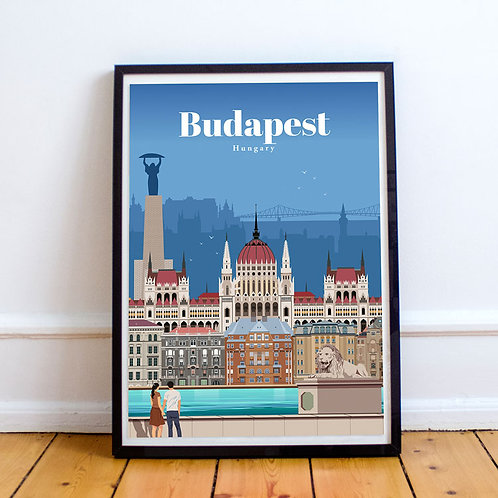 Budapest Print