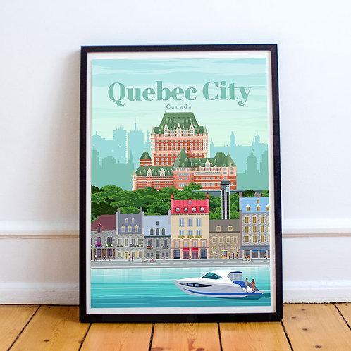 Quebec City Print