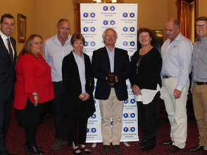 Recognition for excellence on National Family Business Day
