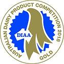 Aust Dairy Prodt Comp gold medal 2018.jp