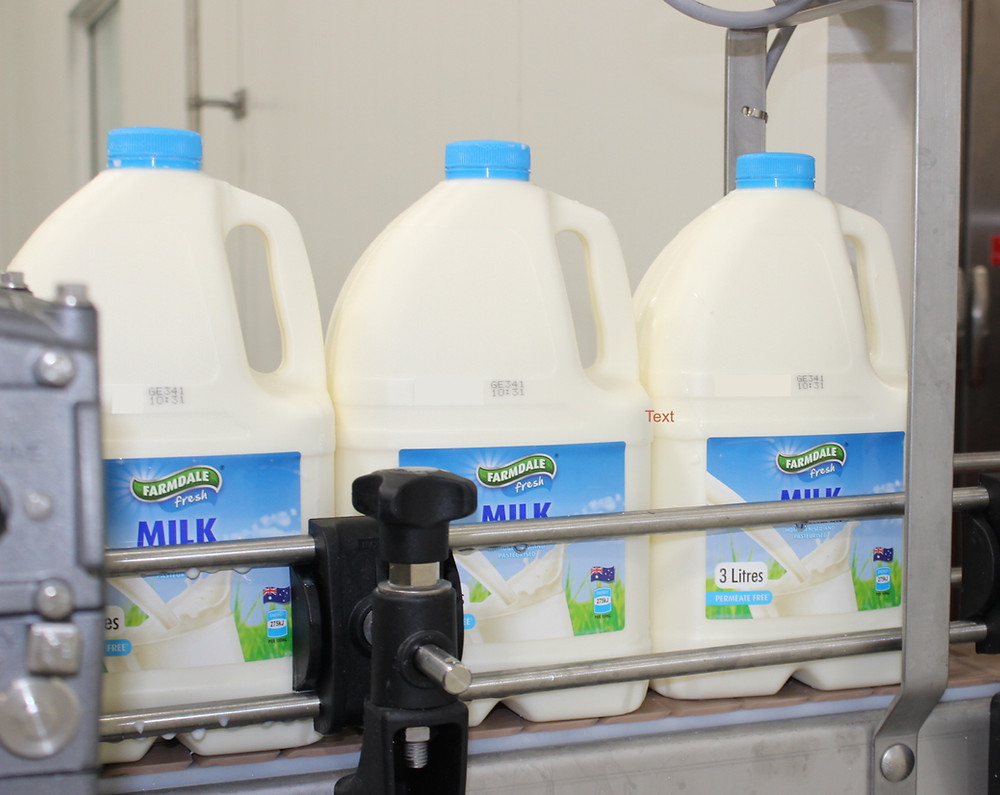 ALDI Australia's Farmdale Milk