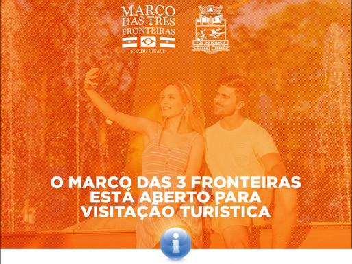 Marco permanece aberto à visitação pública