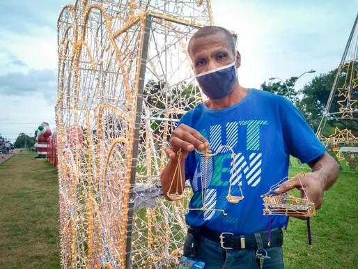 Natal de Luzes movimenta economia em Foz do Iguaçu