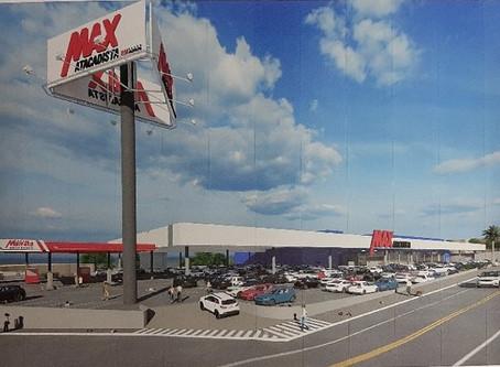 Construção do Max Atacadista de Rolândia vai gerar 400 empregos