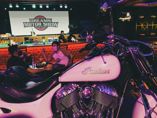 Dreams Motor Show está atendendo seguindo o protocolo de segurança