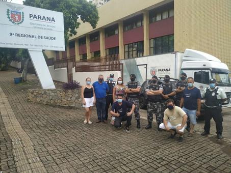 Chegam a Foz do Iguaçu os insumos para a campanha de vacinação
