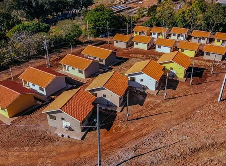 Governo Municipal e Itaipu Binacional estão finalizando as obras das 20 casas