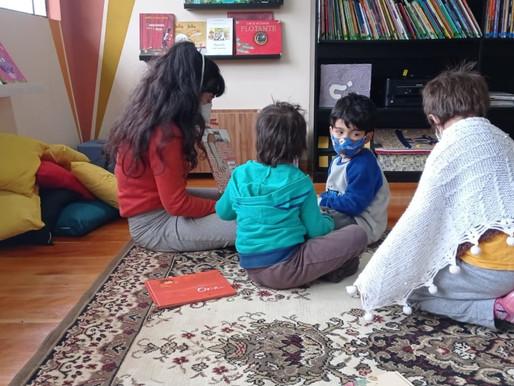 Biblioteca da Infância e Juventude retoma oficinas presenciais na Estação Cultural da Vila C