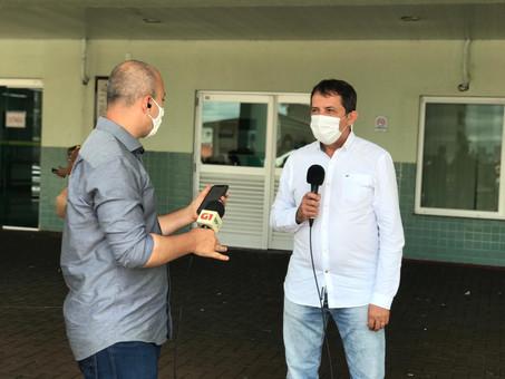 Prefeito Chico Brasileiro detalha início da vacinação em Foz do Iguaçu