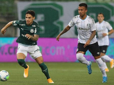 Grêmio arranca empate com Palmeiras na abertura da 30ª rodada