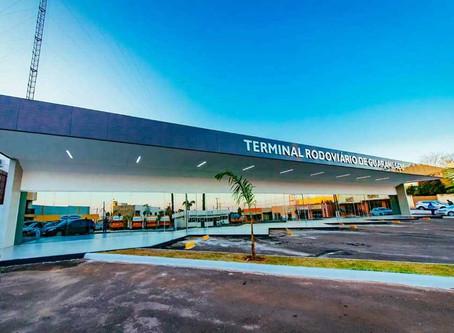 Governo Municipal fez a entrega da revitalização do Terminal Rodoviário de Guaraniaçu