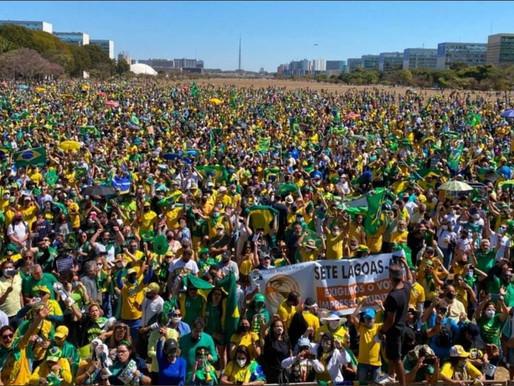 Manifestação de 7 de setembro dá 'ultimato' pela 'vontade do povo', afirma Bolsonaro