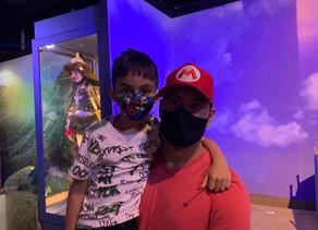Famílias aproveitam a Semana dos Filhos no Dreams Park Show