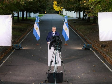 Argentina decreta toque de recolher para conter aumento de casos de Covid-19